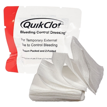 QuickClot Bleeding Control Dressings