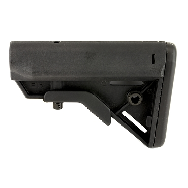 B5 Systems BRAVO Stock QD Mount, Black