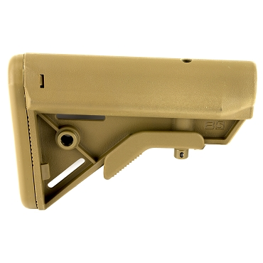 B5 Systems BRAVO Stock QD Mount, Coyote Brown