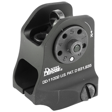 Daniel Defense A.15 Fixed Rear Sight - Black