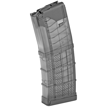 Lancer L5 Advanced Warfighter 30Rd Magazine - Translucent Smoke
