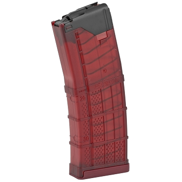 Lancer L5 Advanced Warfighter 30Rd Magazine - Translucent Red