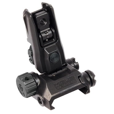 Magpul MBUS Pro LR Adjustable Rear Sight - Black