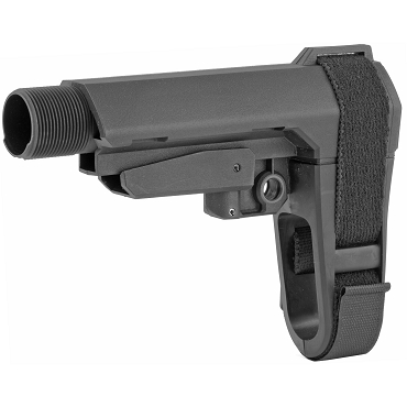 SB Tactical SBA3 Stabilizing Brace + Buffer Tube - Black