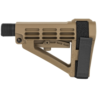 SB Tactical SBA4 Stabilizing Brace + Buffer Tube - FDE